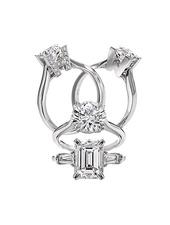 自信に満ちた大人の花嫁に似合うダイヤモンド